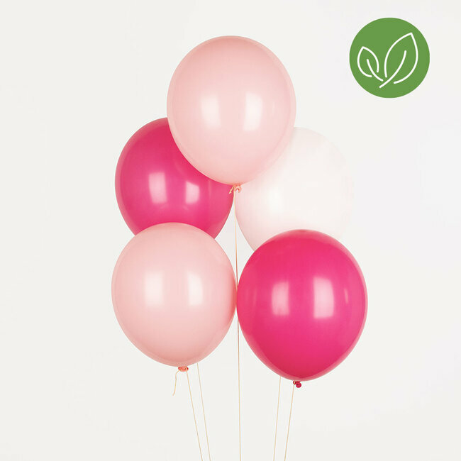 ballons trio - rose