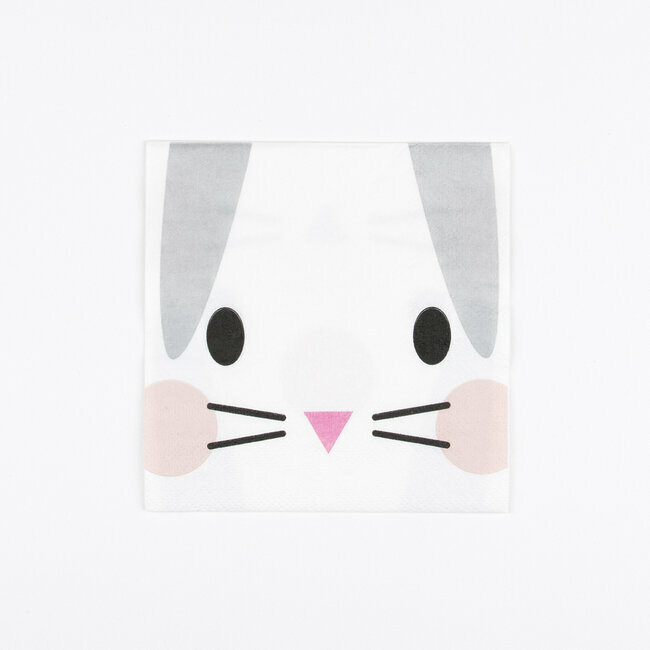 serviettes - mini lapin