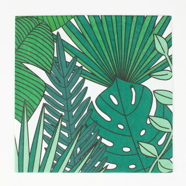serviettes - tropical