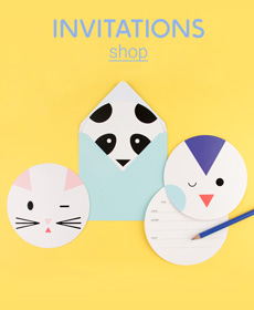 Shop les invitations !